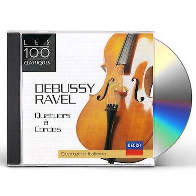 Quartetto Italiano DEBUSSY-RAVEL-QUATUOR A CORDES CD