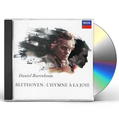 Daniel Barenboim BEETHOVEN: L'HYMNE A LA JOIE CD