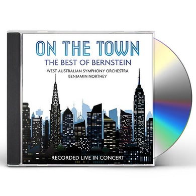 West Australian Symphony Orchestra ON THE TOWN: THE BEST OF BERNSTEIN CD