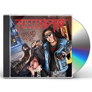 Fueled By Fire SPREAD THE FIRE CD