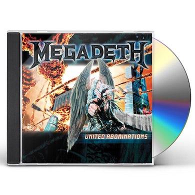 Megadeth United Abomination CD
