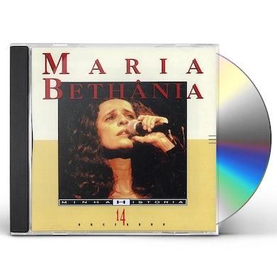 Maria Bethania MINHA HISTORIA CD