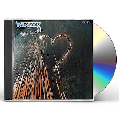 Warlock TRUE AS STEEL CD