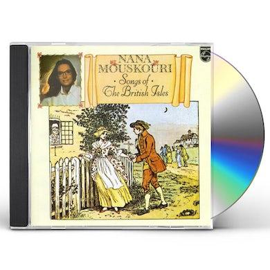 Nana Mouskouri SONGS OF THE BRITISH ISLES CD