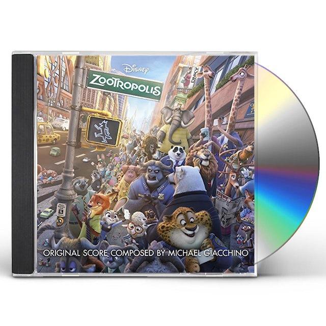 Michael Giacchino ZOOTROPOLIS / O.S.T. CD