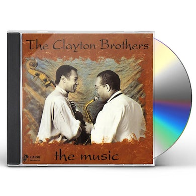 Clayton Brothers MUSIC CD