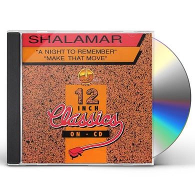 Shalamar NIGHT TO REMEMBER/MAKE THAT MOVE CD