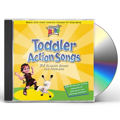 Cedarmont Kids Toddler Action Songs CD