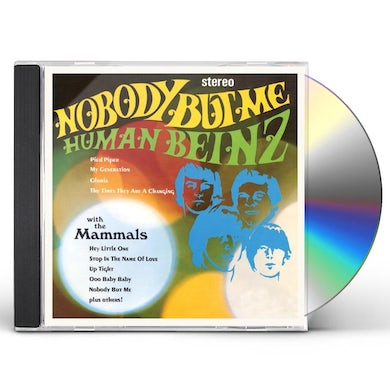 The Human Beinz NOBODY BUT ME CD