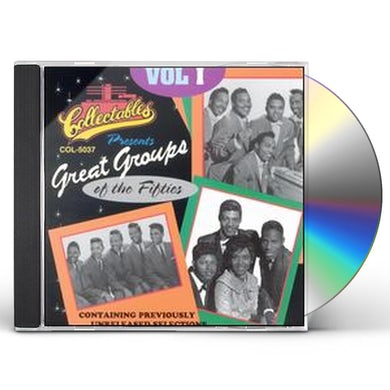 Great Groups Of The 50'S 1 / Various CD