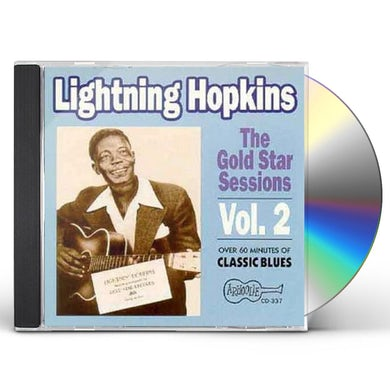 Lightnin Hopkins THE GOLD STAR SESSIONS - VOL. 2 CD