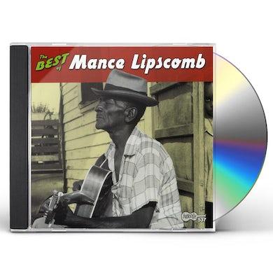 BEST OF MANCE LIPSCOMB CD