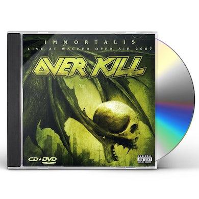 Overkill IMMORTALIS / LIVE AT WACKEN CD