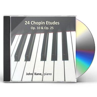 John Kane CHOPIN 24 ETUDES CD