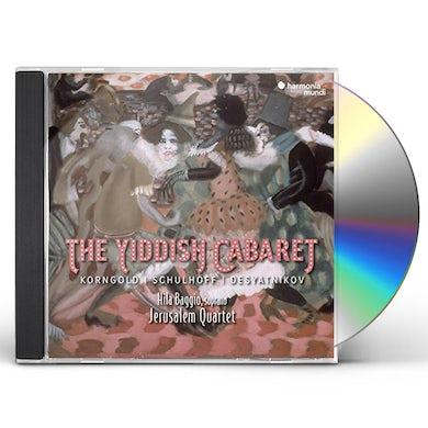 Jerusalem Quartet YIDDISH CABARET CD
