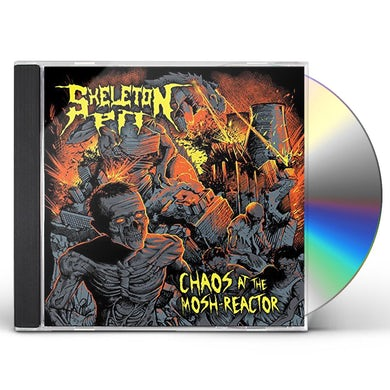 Skeleton Pit CHAOS AT THE MOSH-REACTOR CD
