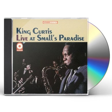 King Curtis LIVE AT SMALL'S PARADISE CD