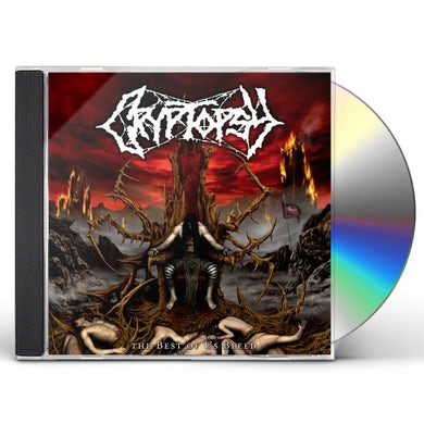 Cryptopsy BEST OF US BLEED CD