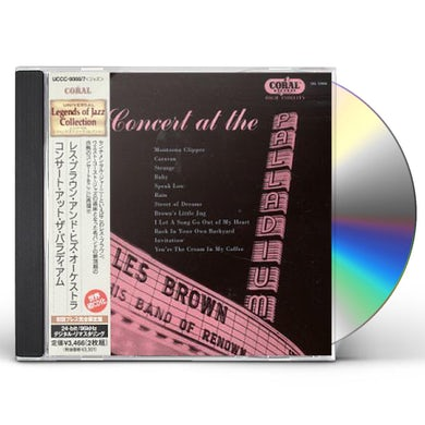 Les Brown CONCERT AT PALLADIUM CD