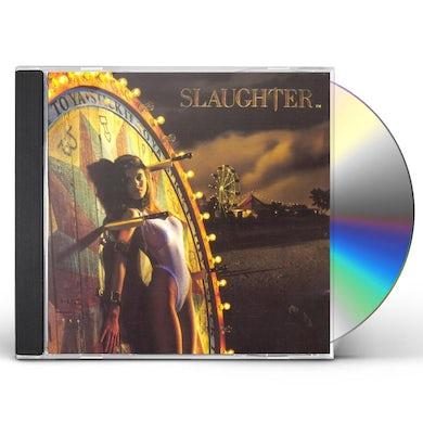 Slaughter STICK IT LIVE CD