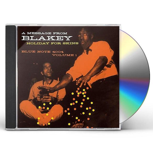 Art Blakey HOLIDAY FOR SKINS VOLUME 1 CD