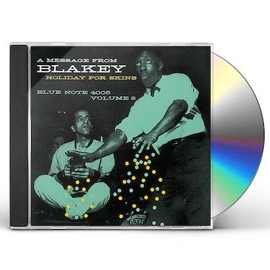 Art Blakey HOLIDAY FOR SKINS VOLUME 2 CD