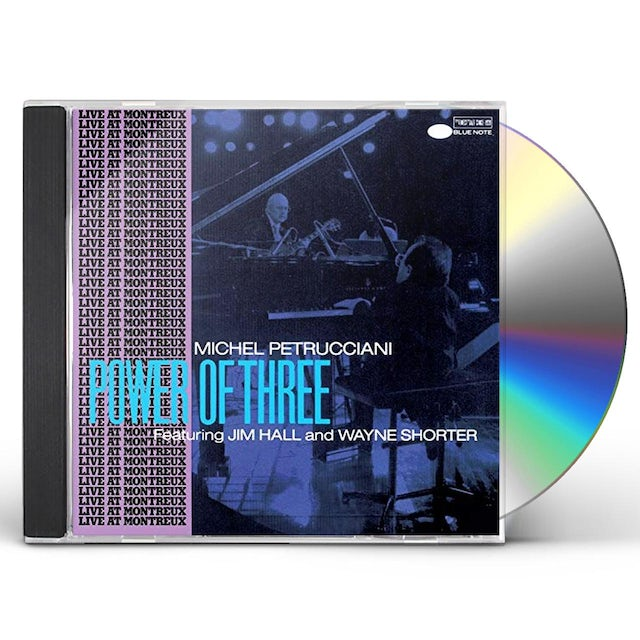 Michel Petrucciani POWER OF THREE CD