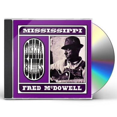 Fred Mcdowell DELTA BLUES CD
