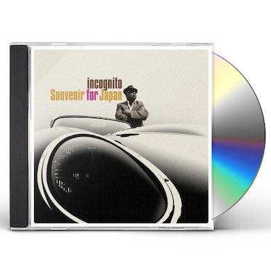 Incognito SOUVENIR FOR JAPAN CD