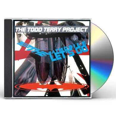 Todd Project Terry TO THE BATMOBILE LET'S GO CD