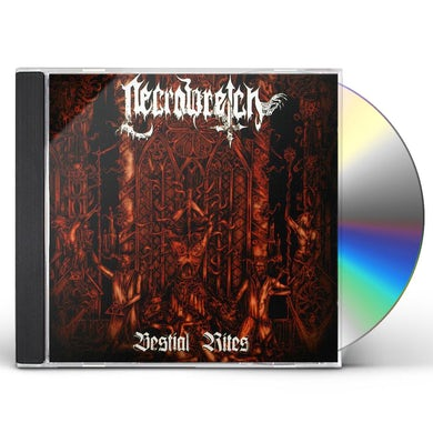 Necrowretch BESTIAL RITES 2009-12 CD
