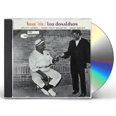 Lou Donaldson HERE 'TIS CD