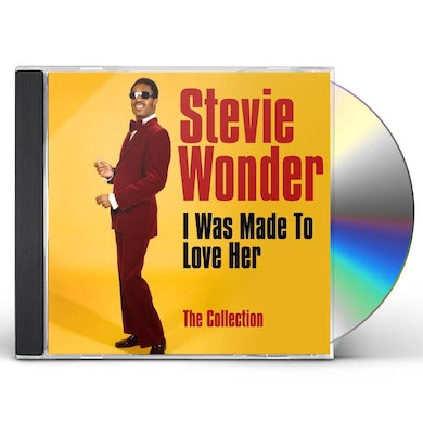 Stevie Wonder  I WAS MADE TO LOVE HER: COLLECTION CD
