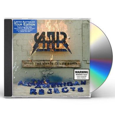 The All-American Rejects WHEN THE WORLD COMES DOWN-AUSTRALIAN TOUR EDITION CD