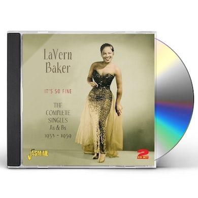 Lavern Baker COMPLETE SINGLES 1953-59 CD