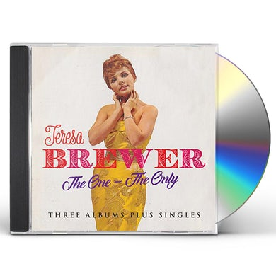 Teresa Brewer ONE - THE ONLY: THREE ALBUMS PLUS SINGLES CD