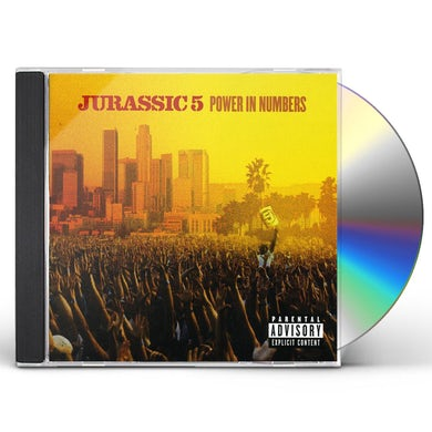 Jurassic 5 POWER IN NUMBERS CD