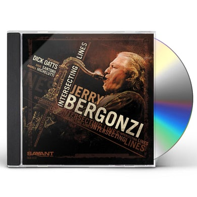 Jerry Bergonzi INTERSECTING LINES CD