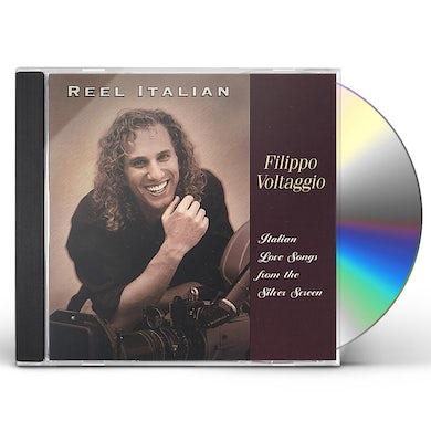 Filippo Voltaggio REEL ITALIAN-LOVE SONGS FROM THE SILVER SCREEN CD