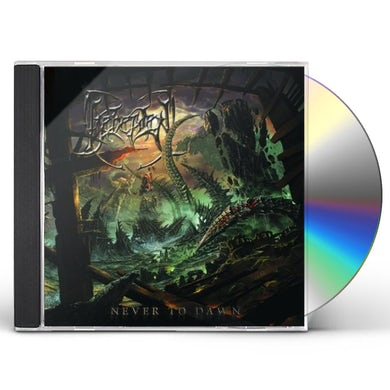 Beheaded NEVER TO DAWN CD