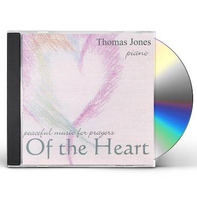 Thomas Jones PEACEFUL MUSIC FOR PRAYERS OF THE HEART CD