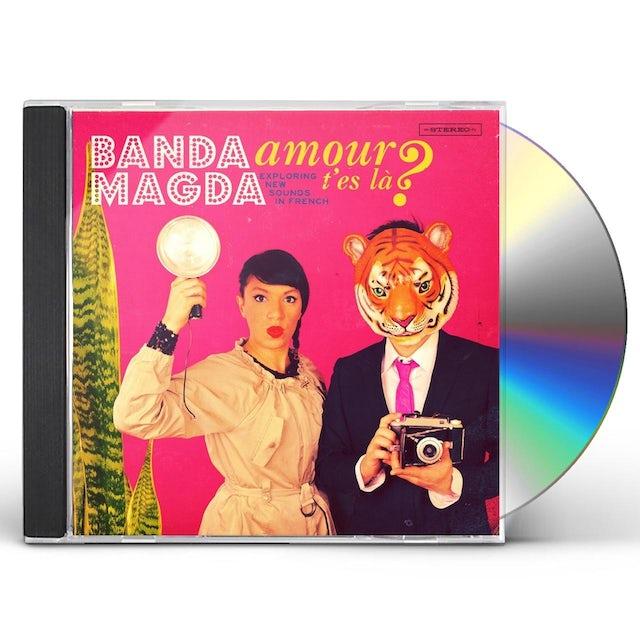 Banda Magda AMOUR T'ES LA CD