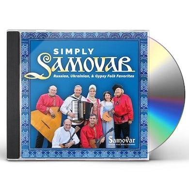 Samovar Russian Folk Music Ensemble SIMPLY SAMOVAR CD