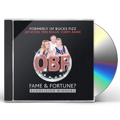 FORMERLY OF BUCKS FIZZ FAME & FORTUNE CD