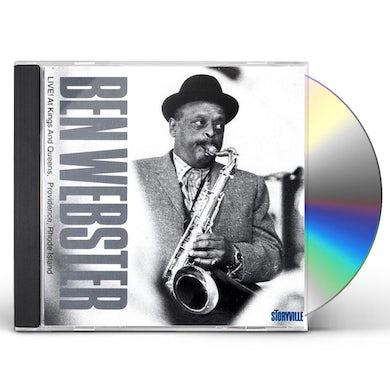 Ben Webster LIVE: PROVIDENCE RHODE ISLAND CD