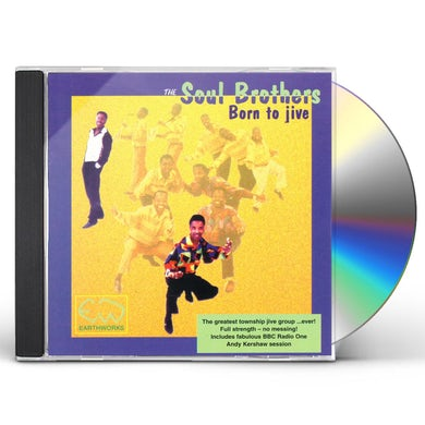 Soul Brothers BORN TO JIVE CD
