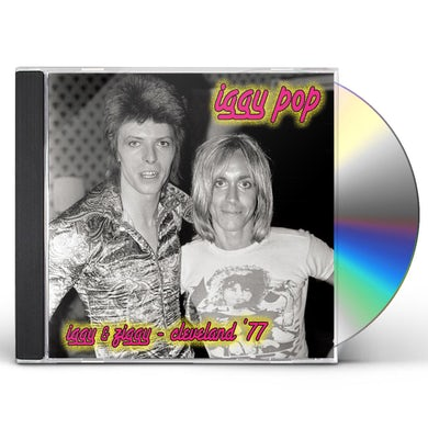Iggy Pop IGGY & ZIGGY: CLEVELAND 77 CD