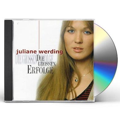 Juliane Werding DIE GROSSEN ERFOLGE CD