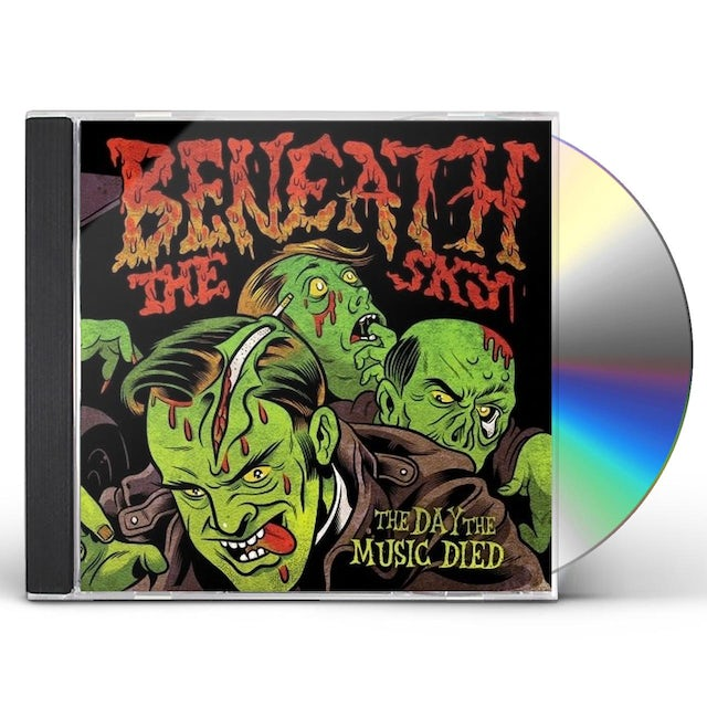 Beneath The Sky DAY THE MUSIC DIED CD