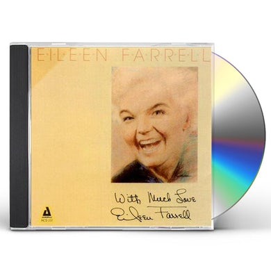 Eileen Farrell WITH MUCH LOVE CD
